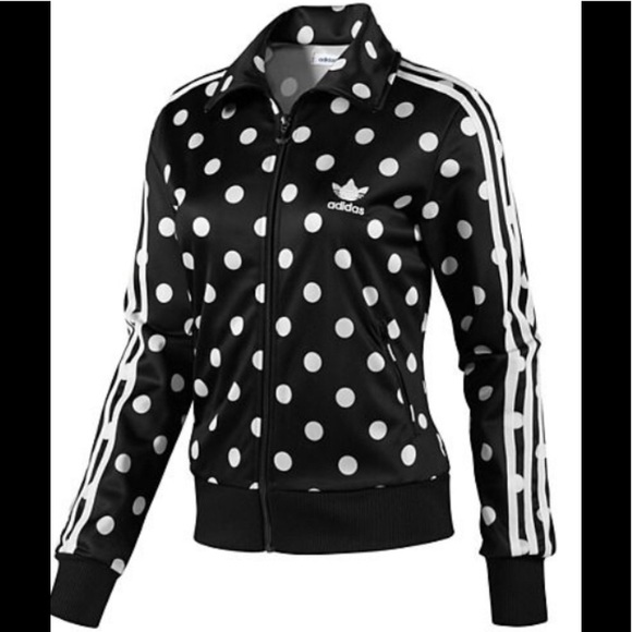 02b7db093b21 adidas Jackets   Blazers - Adidas Firebird TT RARE Black and White Jacket M